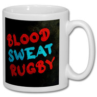 Blood, Sweat, Rugby Mug - Free UK Delivery