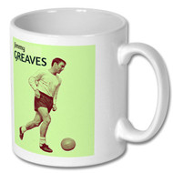 Jimmy Greaves Retro Mug - Free UK Delivery