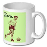 Jimmy Greaves Retro Mug - Free UK Delivery
