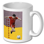 NFFC - John Robertson Full Colour Mug - Free UK Delivery