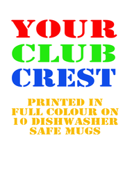 10 Club Mugs Special Fundraising Offer - FREE UK DELIVERY