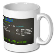 England Rugby World Cup Win Ceefax Mug - Free UK Delivery