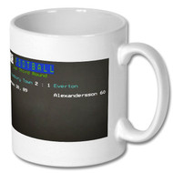 Shrewsbury Town v Everton FA Cup Ceefax Mug - Free UK Delivery