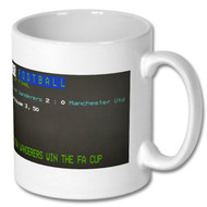 Bolton Wanderers 1958 FA Cup Final Ceefax Mug - Free UK Delivery