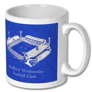 Retro Sheffield Wednesday, Hillsborough Mug - Free UK Delivery