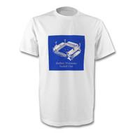 Sheffield Wednesday Retro Hillsborough T-Shirt - Free UK Delivery