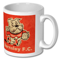 Retro Barnsley FC - Toby Tyke Mug - Free UK Delivery