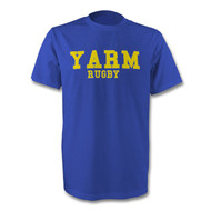 Yarm Rugby T-Shirt  Blue - Free UK Delivery
