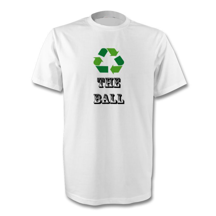 c32f99390 Recycle The Ball T-Shirt - Free UK Delivery - Club Merchandise