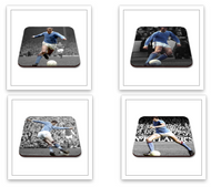 Set of 4 MCFC Legends Coaster - Free UK Delivery