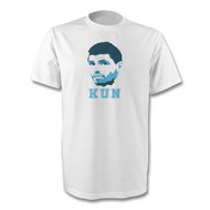Kun Aguero T-Shirt - Free UK Delivery
