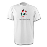 Retro Italia 90 - T-shirt - Free UK Delivery
