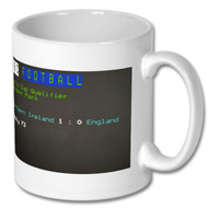 Northern Ireland v England Ceefax Mug - Free UK Delivery