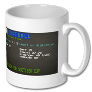 Hearts Scottish Cup Final Ceefax Mug - Free UK Delivery