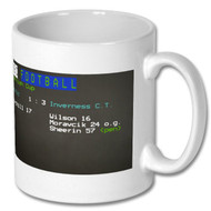 Celtic 1 - 3 Inverness C.T. Ceefax Mug - Free UK Delivery