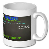 Wolves 1974 League Cup Final Ceefax Mug - Fan's Choice