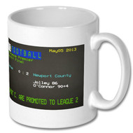 Newport County Play Final Ceefax Mug