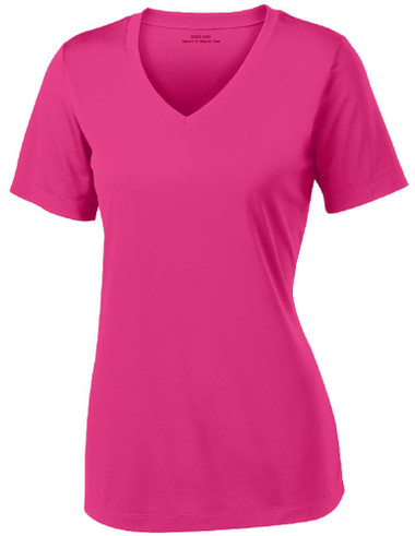 variety of designs and colors fast delivery modern design Women's Athletic All Sport V-Neck Tee Shirt in 15 Colors - Sizes XS-4XL