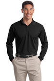 Sport-Tek Long Sleeve Micropique Sport-Wick Polo. ST657.