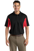 Men's Side Blocked Micropique Sport-Wick Polo