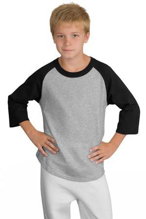 a27a05fa4 Sport-Tek Youth Colorblock Raglan Jersey. YT200. - JOESUSA.COM