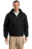 CornerStone Tall Duck Cloth Hooded Work Jacket. TLJ763H.