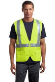 CornerStone - ANSI 107 Class 2 Mesh Back Safety Vest. CSV405.