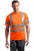 CornerStone - ANSI 107 Class 3 Short Sleeve Snag-Resistant Reflective T-Shirt. CS408.