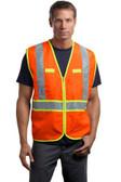 CornerStone - ANSI 107 Class 2 Dual-Color Safety Vest. CSV407.