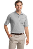 JERZEES -SpotShield™ 5.6-Ounce Jersey Knit Sport Shirt with Pocket. 436MP.
