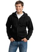 JERZEES Super Sweats - Full-Zip Hooded Sweatshirt. 4999M.
