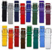 Joes USA Baseball & Softball Elastic Uniform Belts - All Sizes and Colors