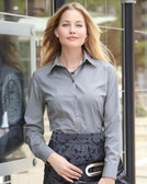 Ladies' Silky Poplin Shirt - 13V0114