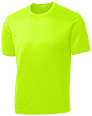 Youth Athletic All Sport Training Tee Shirts in 18 Colors