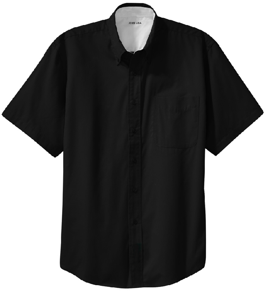 b5e9d527e14173 Men's Short Sleeve Wrinkle Resistant Easy Care Shirts in 32 Colors. Sizes  XS-6XL. Loading zoom