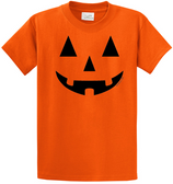 Joe's USA - JACK O' LANTERN PUMPKIN Halloween Costume Orange T-Shirt