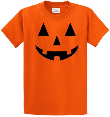Joe's USA - JACK O' LANTERN PUMPKIN Halloween Costume Orange T-Shirt