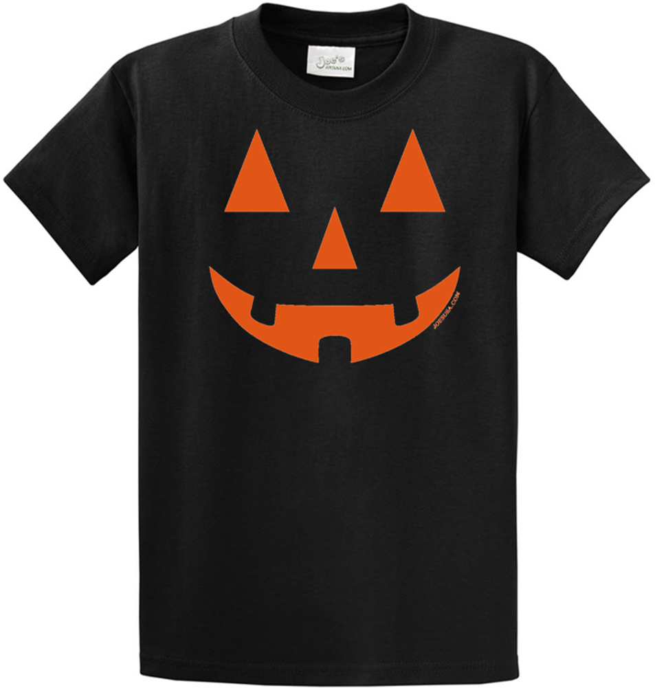 05f0d1ac Joe's USA - JACK O' LANTERN PUMPKIN Halloween Costume Black T-Shirt ...