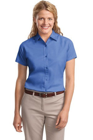 0e7308f4 Port Authority - Ladies Short Sleeve Easy Care Shirt. L508. Loading zoom