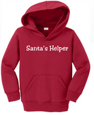 Joe's USA - Santas Helper Toddler Hoodies - Christmas Hooded Sweatshirts