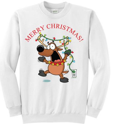 Santa's Reindeer Sweater