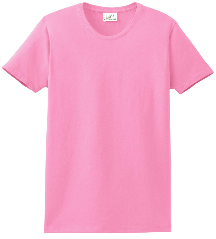 5becf54b Womens Heavyweight 6.1-ounce, 100% Soft Spun Cotton T-Shirts in 37 ...