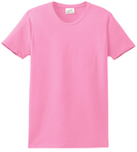 Womens Heavyweight 6.1-ounce, 100% Soft Spun Cotton T-Shirts in 37 Colors XS-4XL