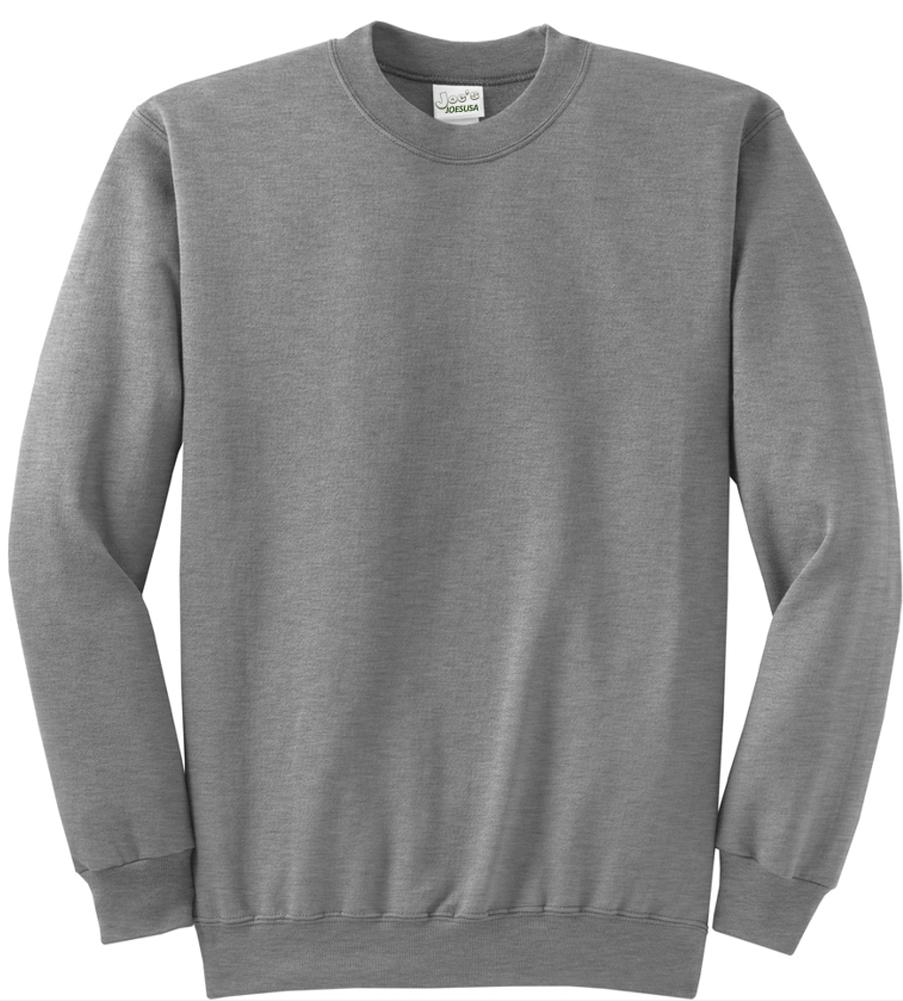 Safety Green and Orange Crewneck Sweatshirts Sweatshirts in Sizes S-5XL Joes USA