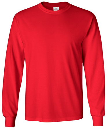 Joe's USA Long Sleeve Cotton T-Shirts