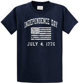 Independence Day 4th of July - Cotton T-Shirts -Regular, Big and Tall
