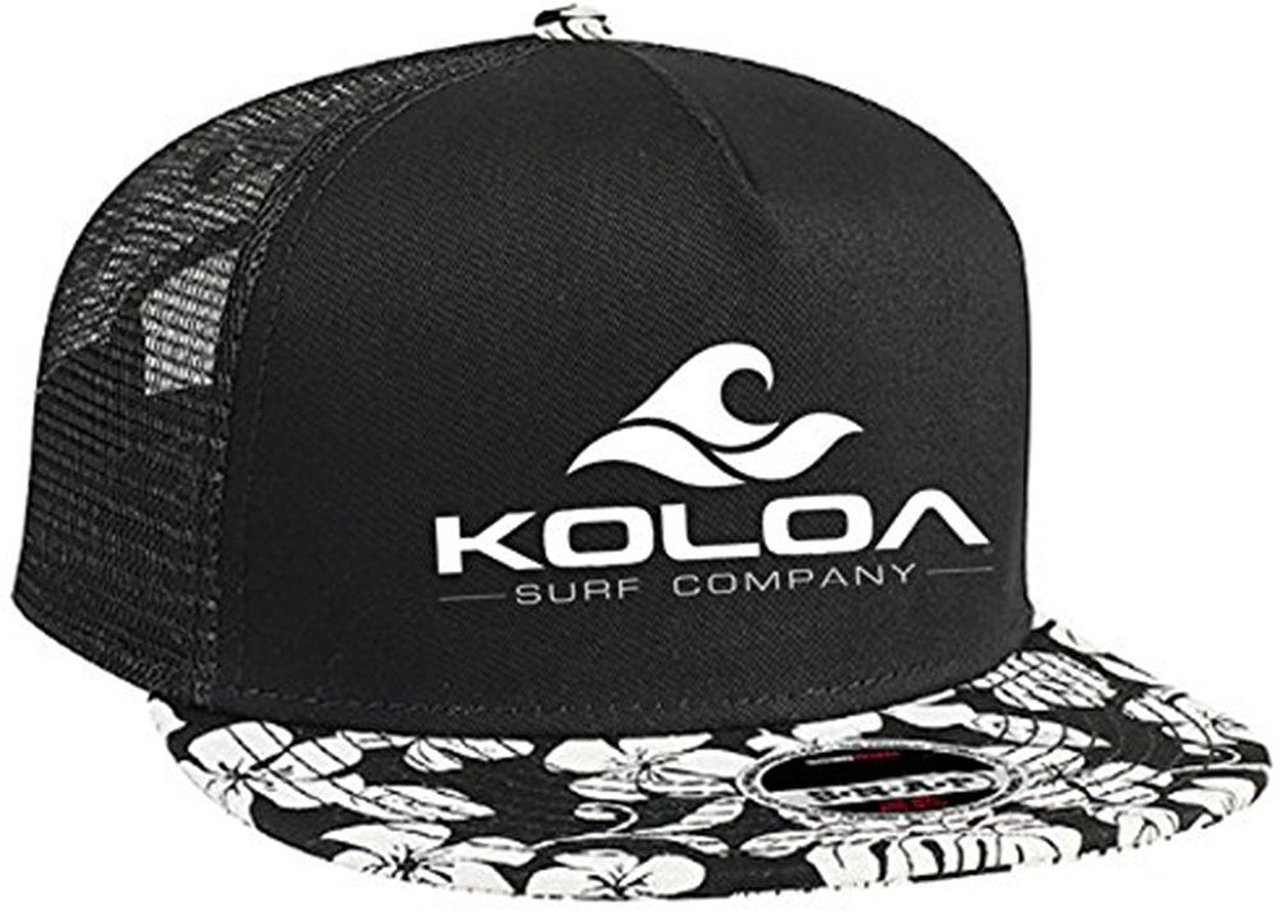 b8cdd9724f22df Koloa Surf Co. Premium Cotton Twill Hawaiian Flat Bill with ...