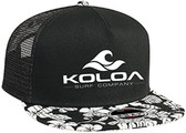 Koloa Surf Co. Premium Cotton Twill Hawaiian Flat Bill with Embroidered Logo