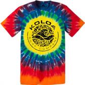 Koloa Surf Co. Sunshine Tie-Dye Circle Logo