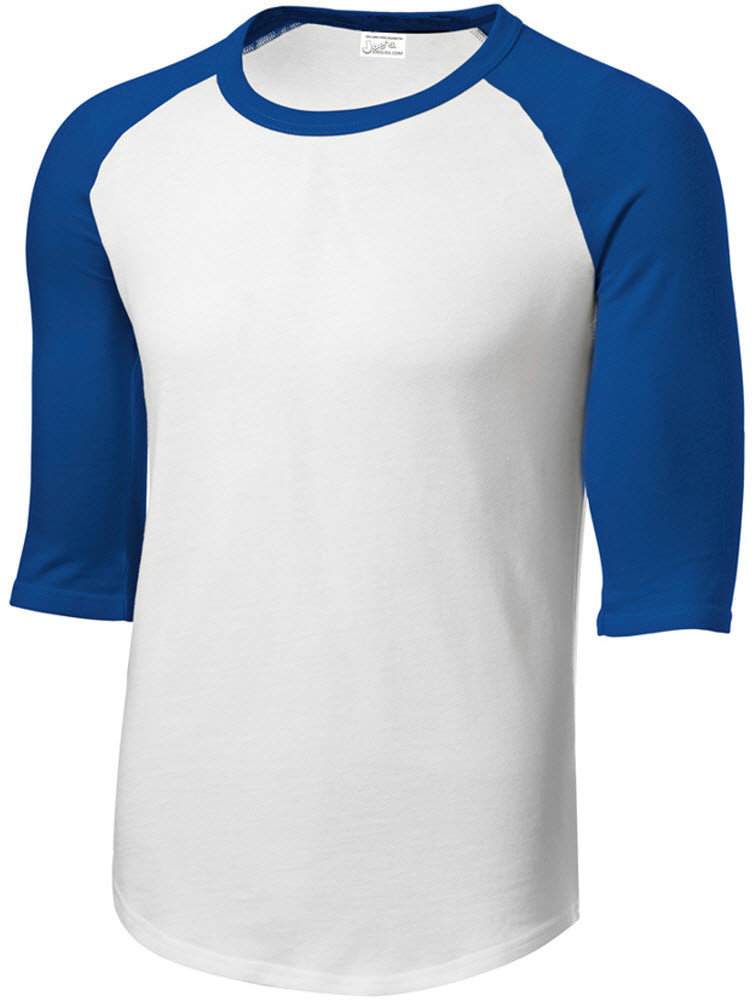 48fa78ce2 Youth 3/4 Sleeve Cotton Baseball Tee Shirts. Loading zoom. Hover over image  to zoom